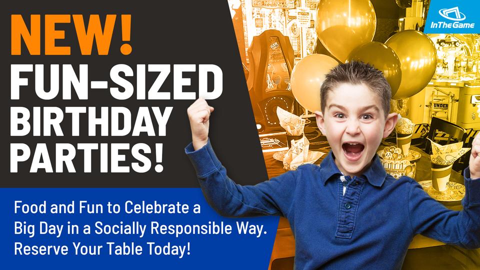 Fun-Sized Birthday Parties