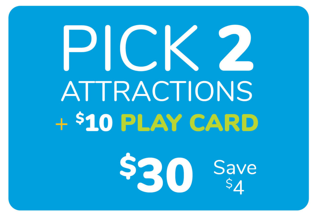 Pick 2 Attractions