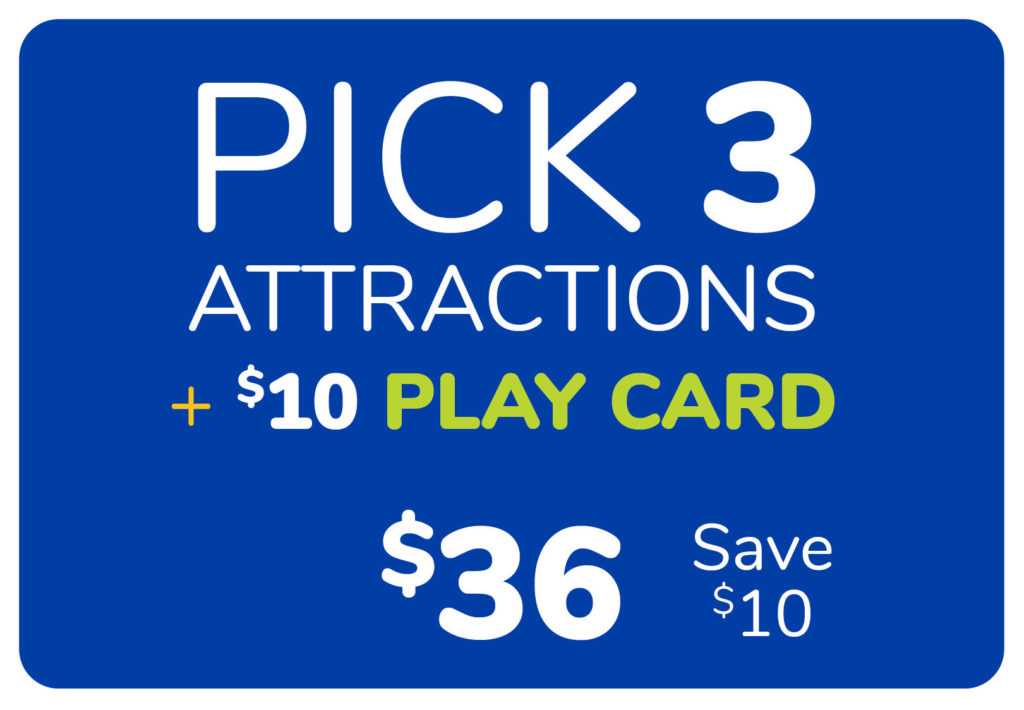 Pick 3 Attractions